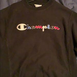 champion reverse weave sweat shirt size s